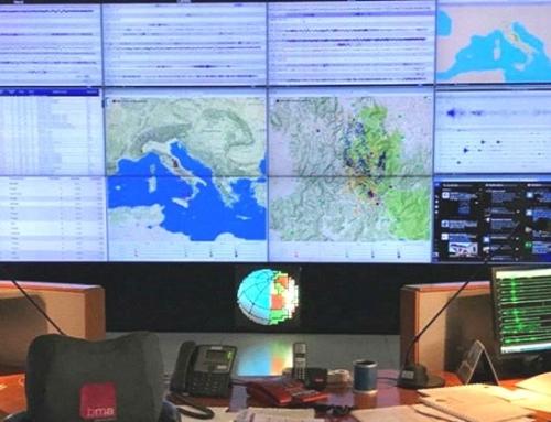 27.11.2020  La sala di sorveglianza sismica e allerta tsunami