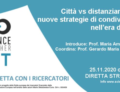 25.11.2020 Città vs distanziamento: nuove strategie di condivisione nell'era digitale